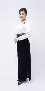 白燕尾スーツ(青襟)